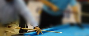 How to play hand positions in pool