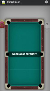 How to play pool on imessage