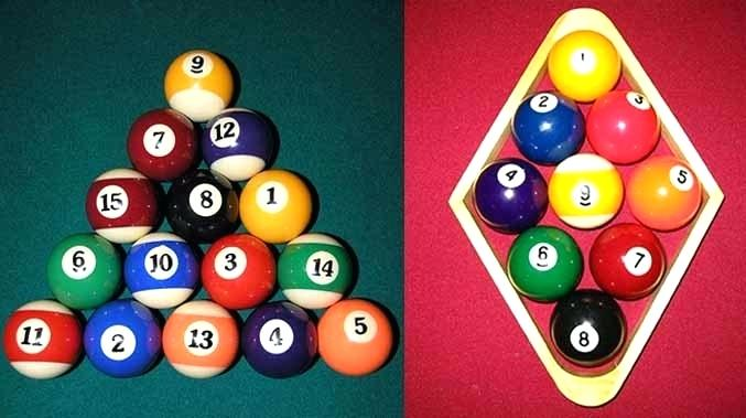 8 Ball vs 9 Ball Pool