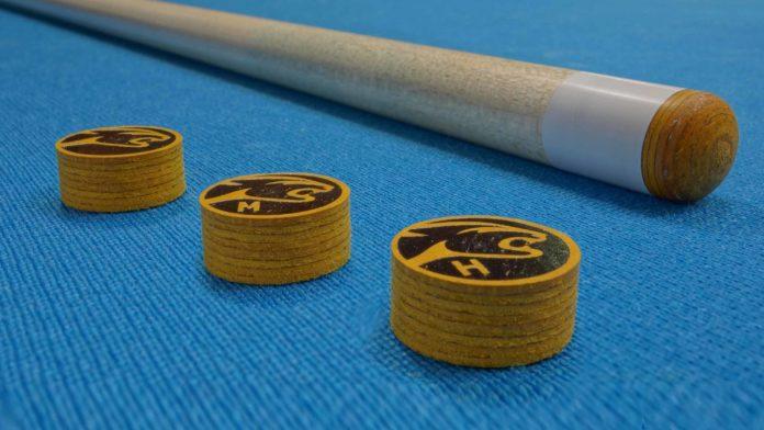 Gurxi Billiard Repair Kit Billiard Chalk Pool Cue Kit Tips Cue Stick Ferrules Billiard Cue Replacement Tips Billiard Cue Leather Tip Cue Tip Repair Tool Cue Tip Trimmer Billiard Repair Kit Cue Tips