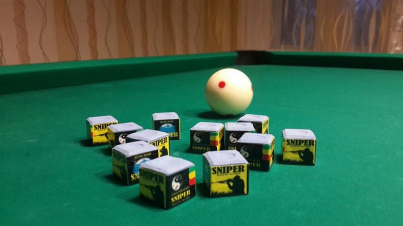 Image result for Chalk A Pool Cue Stick